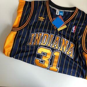 Reggie Miller Adidas swingman jersey NWT (XS)